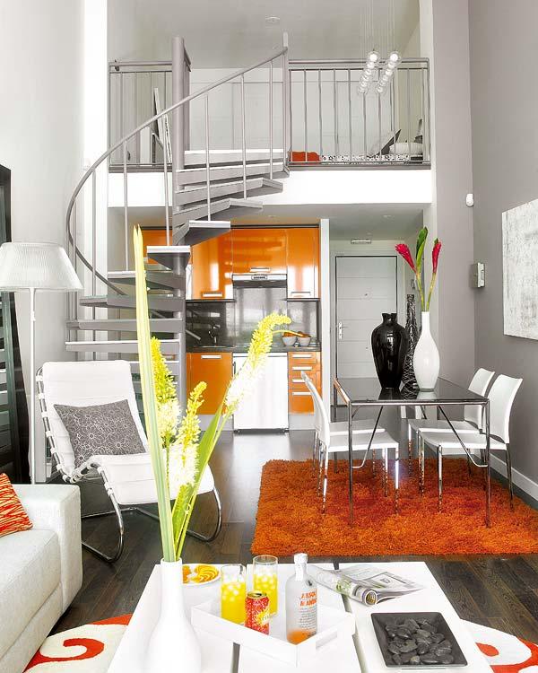 designismymuse :     Small bright loft, via freshome