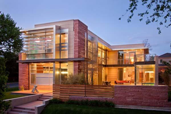 micasaessucasa :     (via  Sophisticated Contemporary Architecture: Marquis Estate of Cherry Creek )