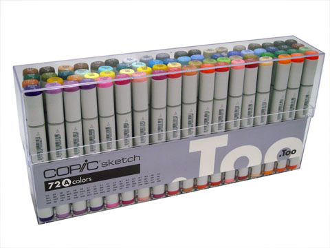 i just ordered rendering markers… 72ct. COPIC sketch set A… i am SOOOO excited.
