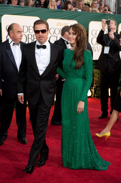 Angelina Jolie in PERFECTLY flawless Versace. Man, I love this dress.