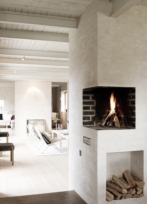 micasaessucasa :      fire place | the style files