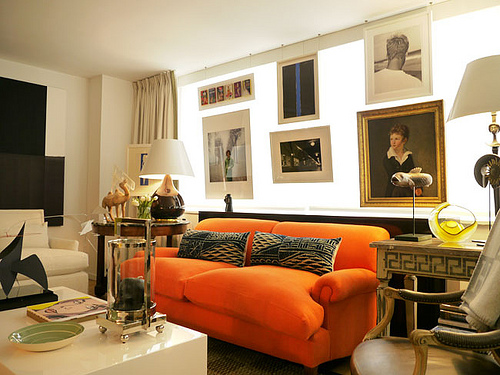 designismymuse :     when art meets interiors…