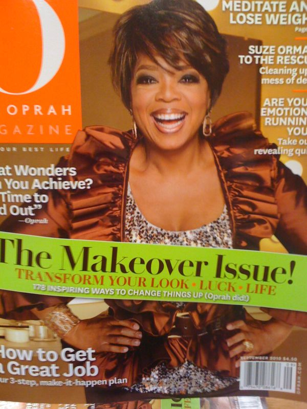 Oprah got a new makeover… Sort of.  Lookin good… younger, for sure.