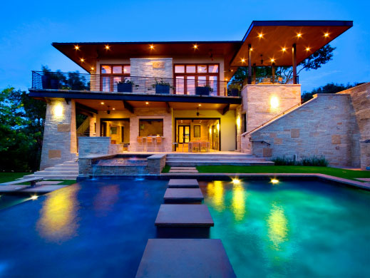 an amazing home by an amazing firm with a very specific vision and inspiration.  LaRue architects ,design my future home, please.