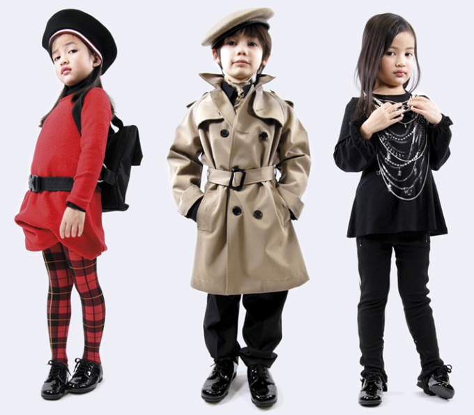Jean Paul Gaultier kids' wear…? SINCE WHEN? this makes me want to have babies.