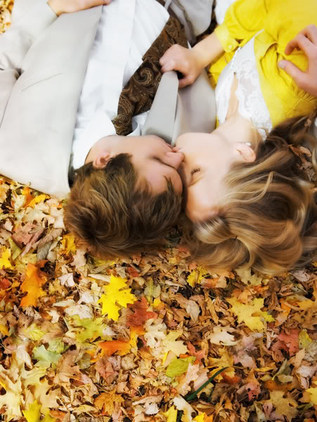 who doesn't love making out in the leaves?