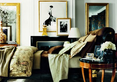 a master bedroom should look like this. lived in. classy. rich. personalized.