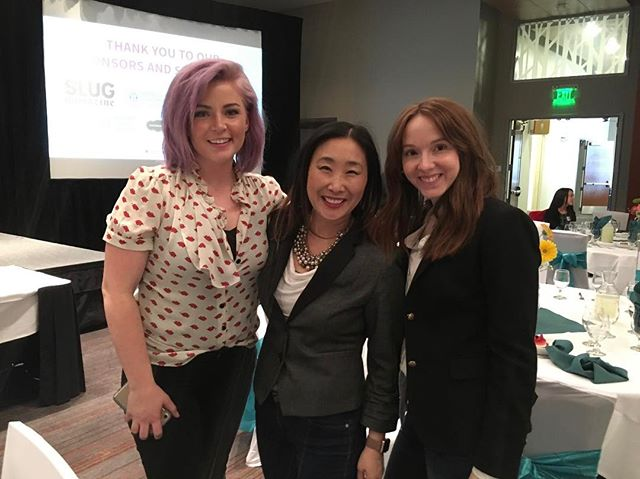 I'm grateful for strong women entrepreneurs like @awe_dyssey and @zubibaby and the opportunities I have to help coach at events like this. The ladies at @utwomenssummit put on a great Idea Lab, and I'm so glad I got to kick off my Valentine's Day with 50+ women and their great ideas. #shestarts #womenintech