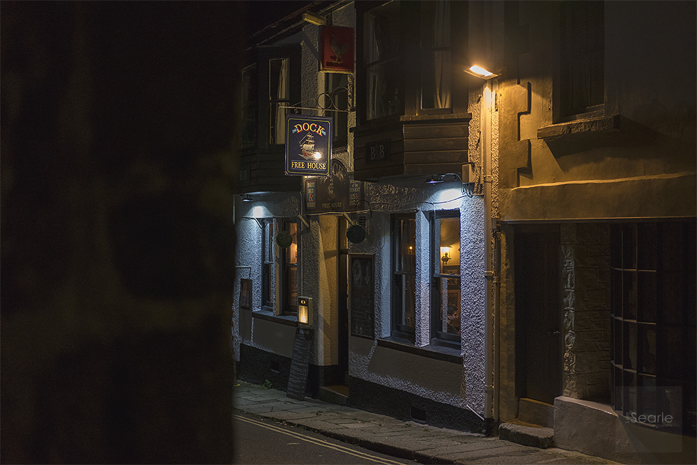 """The Dock Inn Penzance Cornwall"" - 3200 ISO Review  Fuji XT-2"