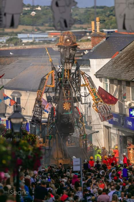 Man Engine in Penzance