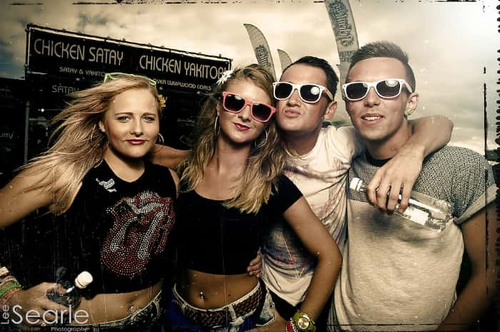 Friends at Boardmasters