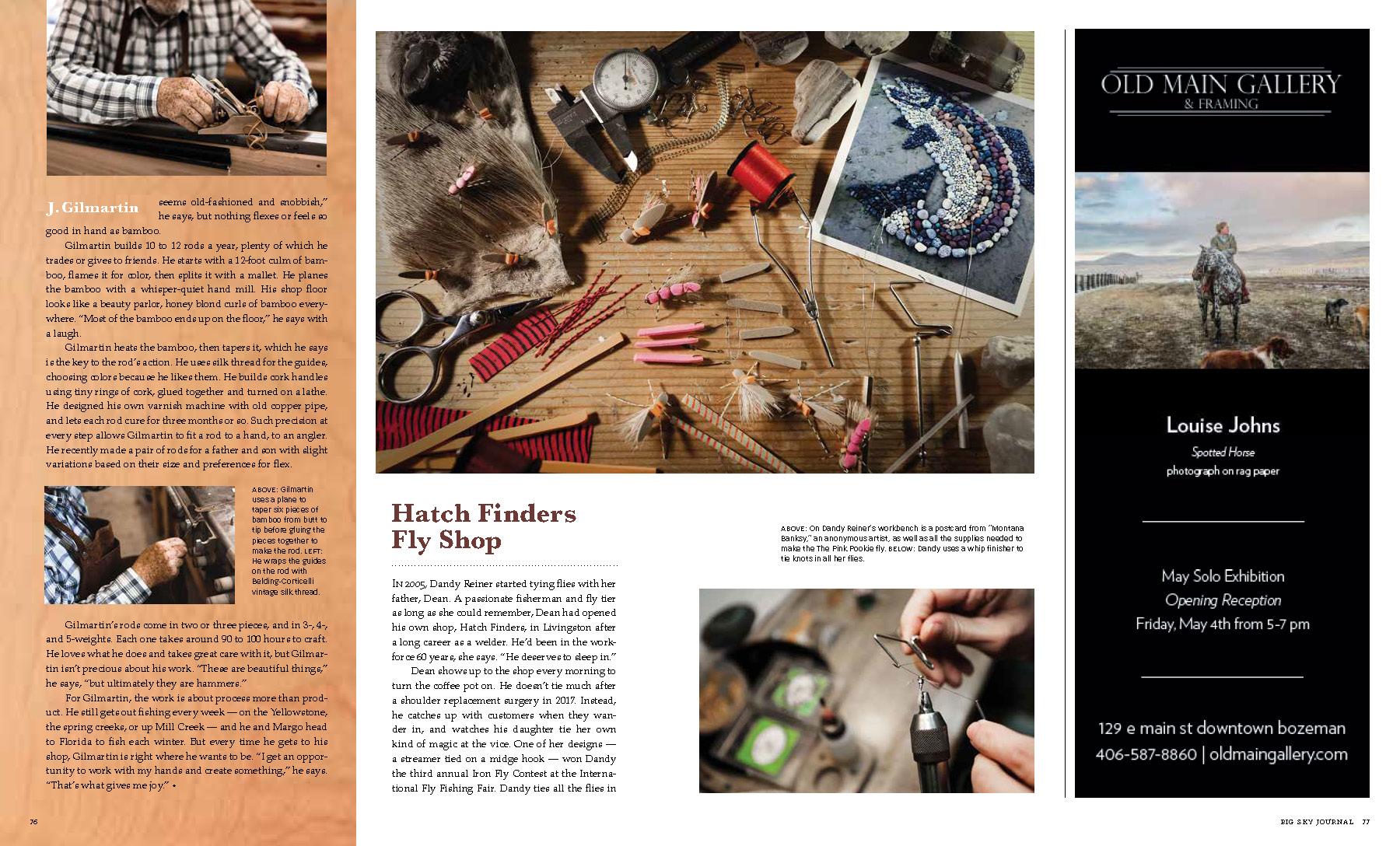 Big Sky Journal — Nashan Photographers