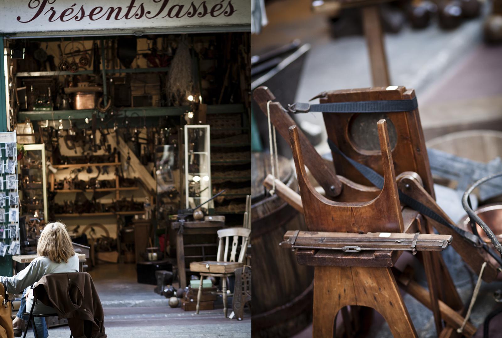 paris march aux puces de st ouen flea market at porte de clignancourt round two rowena. Black Bedroom Furniture Sets. Home Design Ideas