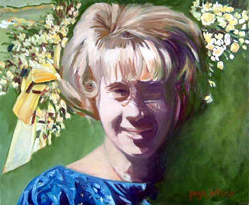 Bridesmaid  (2003) Oil on canvas / 24 x 16 inches