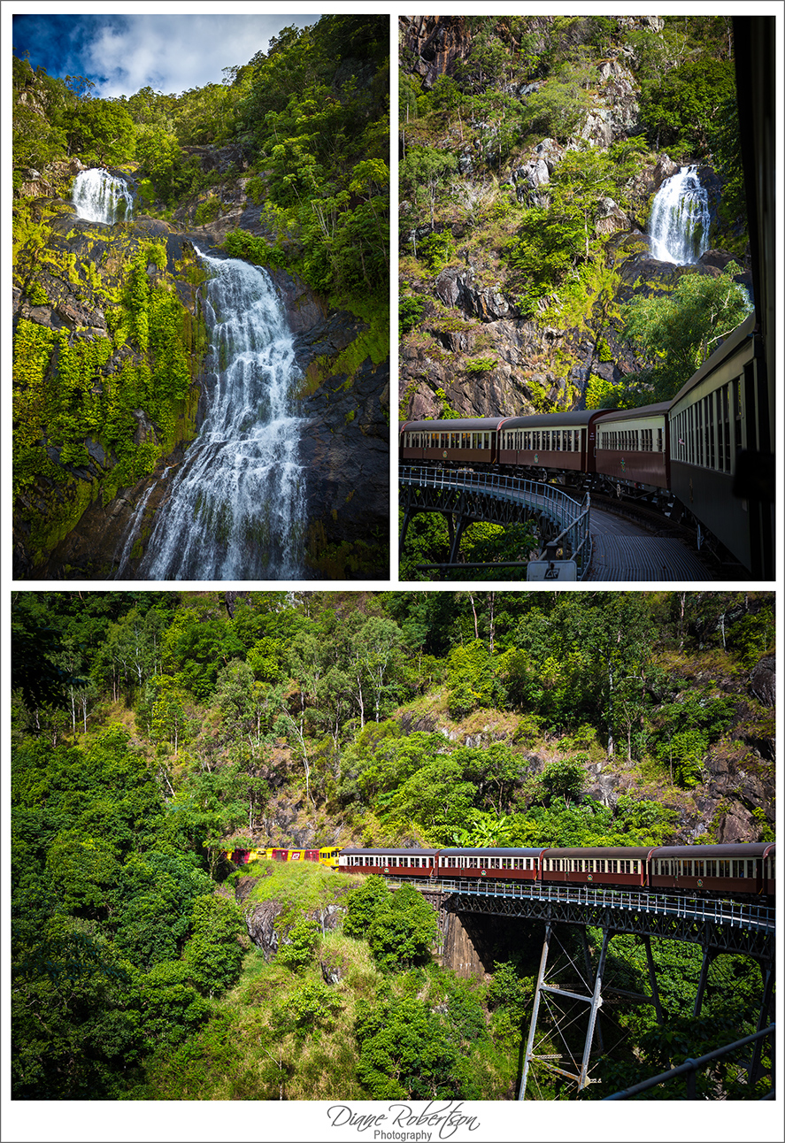 Kuranda railway and Barron Falls