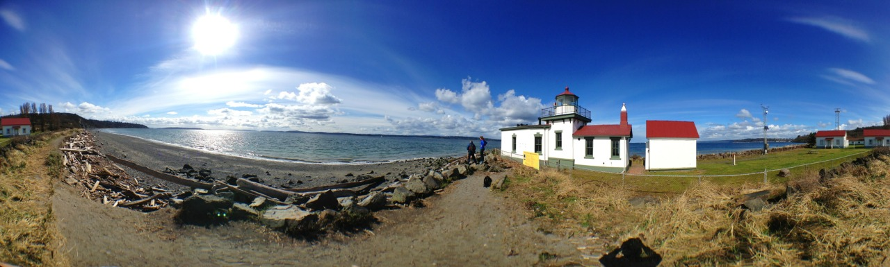 Beautiful hike at discovery park this weekend!