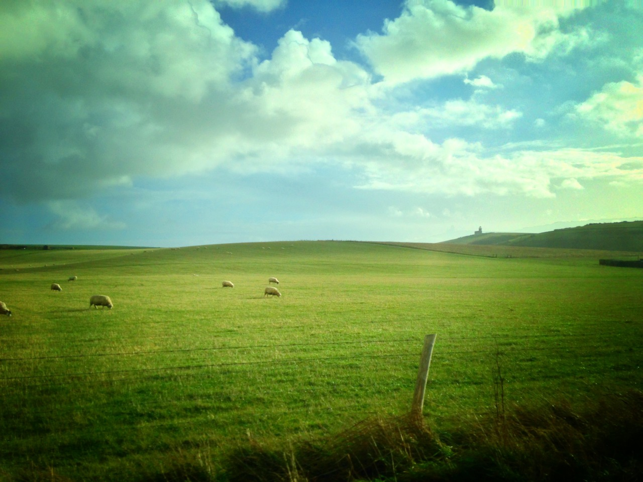 The road to Beachy Head