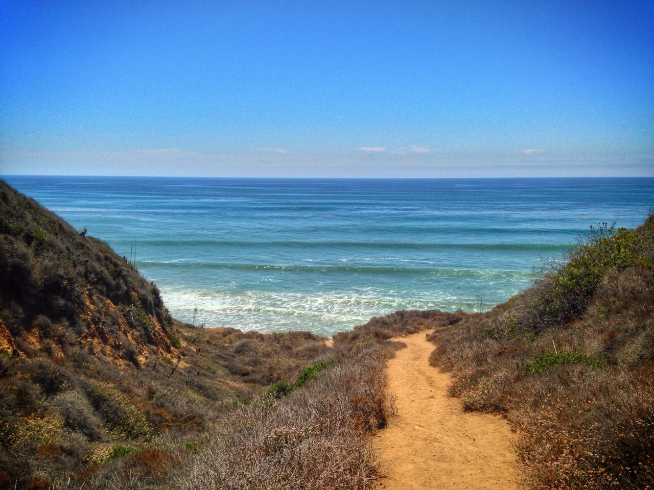 Beachside hike
