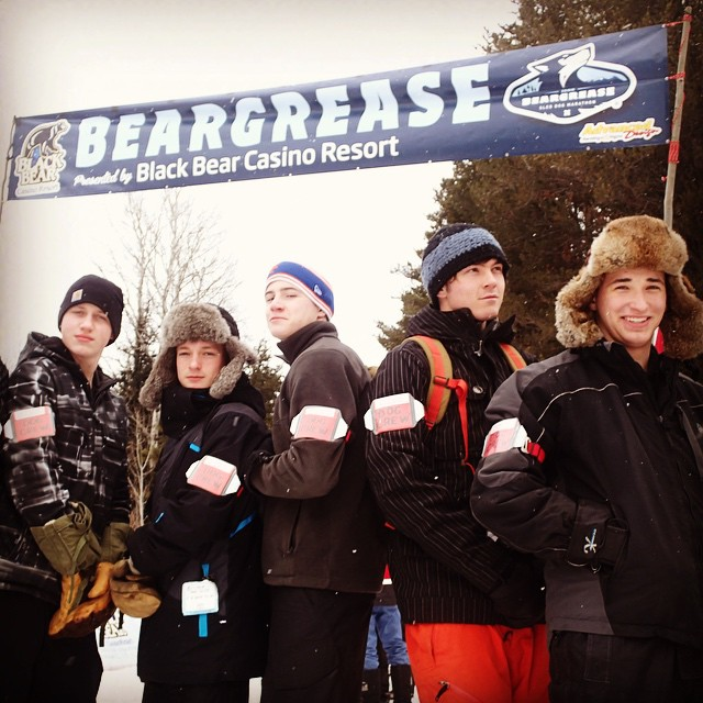 The premier volunteer dog crew team at the 2015 John Beargrease Sled Dog Race. #johnbeargrease #minnesotawinter #redwingelc #dogcrew