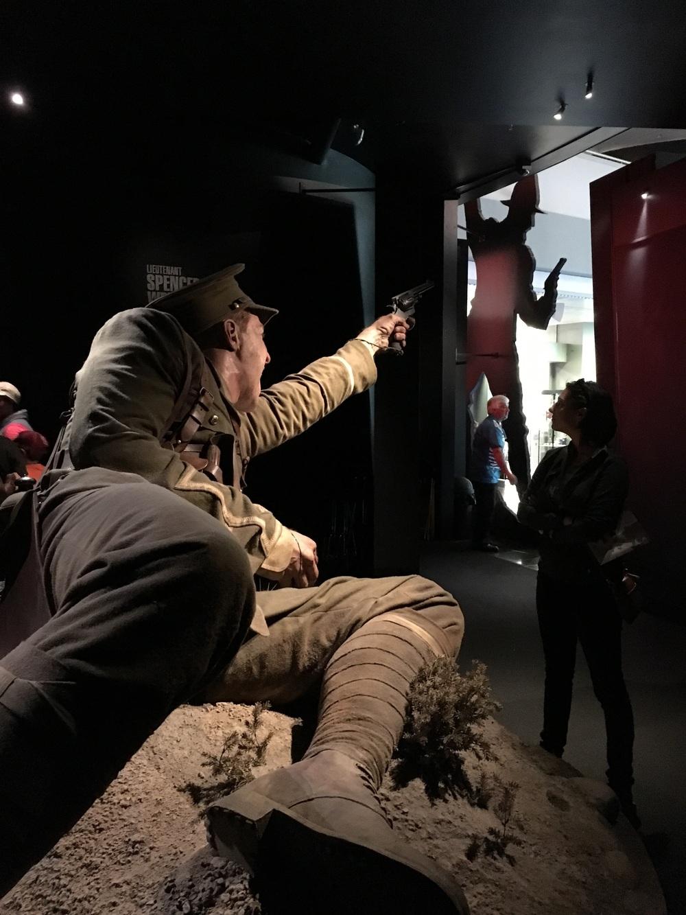 Gallipoli exhibit at Te Papa
