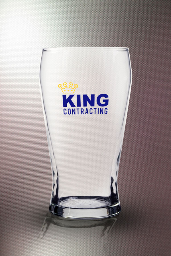 Crown Viking Glass 16 oz