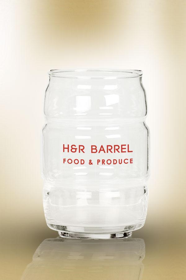 Barrel Beer Glass 16 oz
