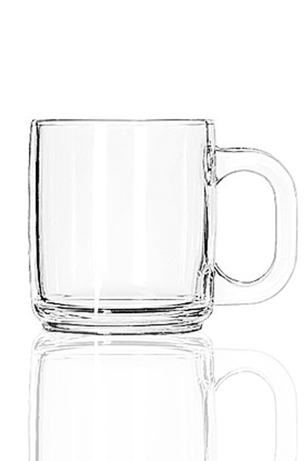 Glass Coffee Mug $19.95 (Includes Engraving)