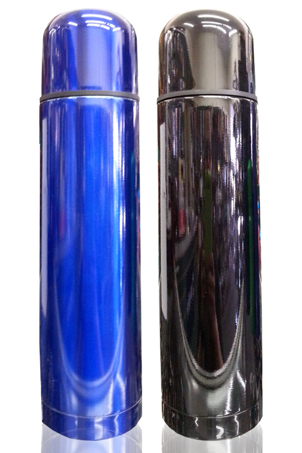 Vacuum Thermos Red/Black/Blue