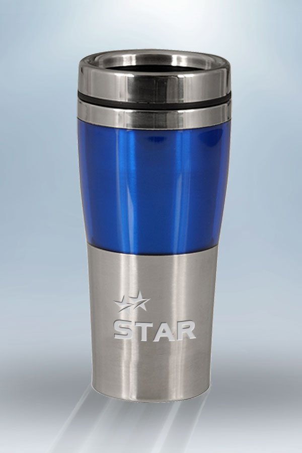Blue Fusion Tumbler 1  6  oz