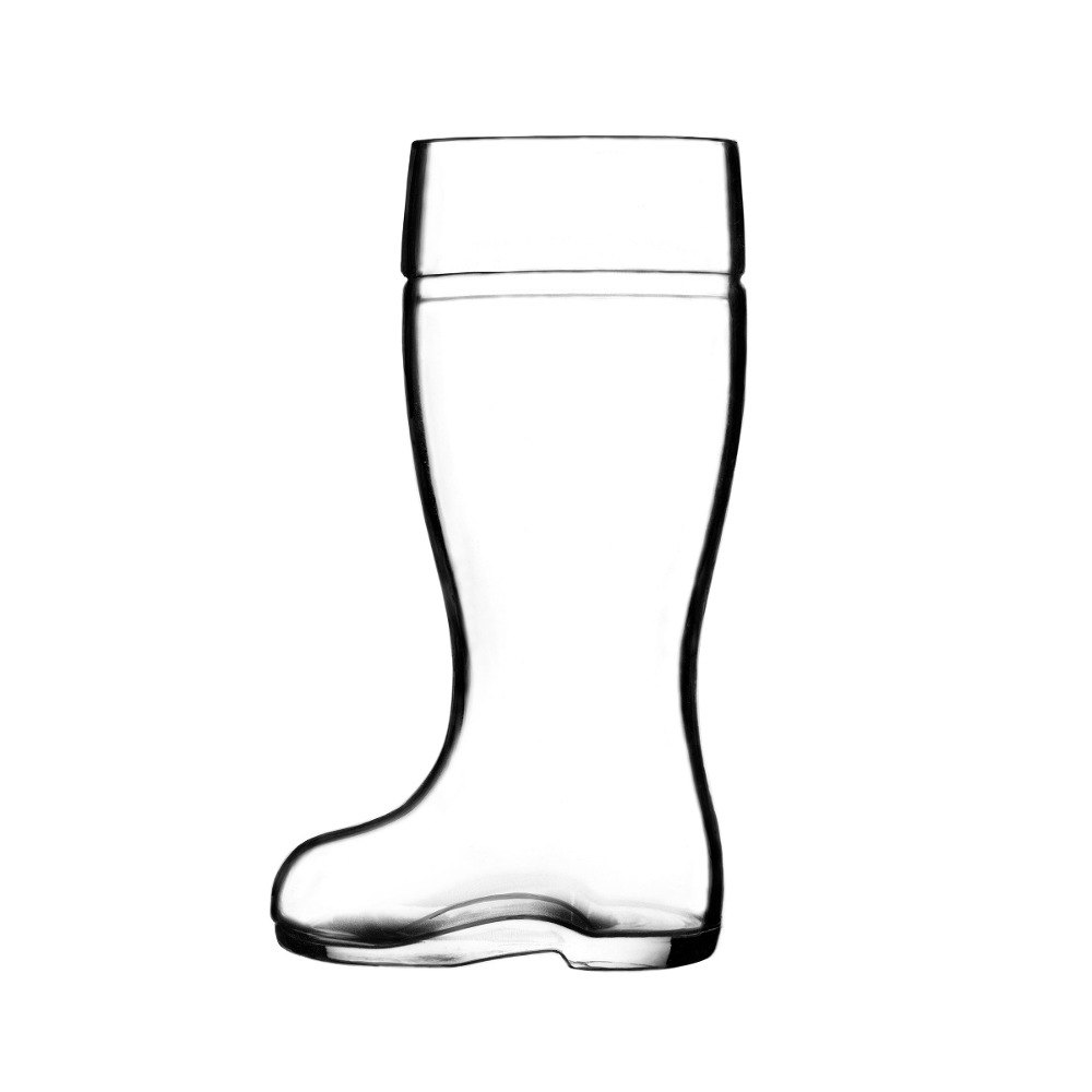 Anchor Hocking Stolzle Biersiefel 1 1 Qt  Beer Boot Glass (Includes  Engraving)