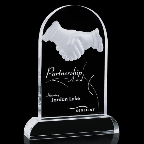 Partnership Award Engraving Included Trophy Gallery