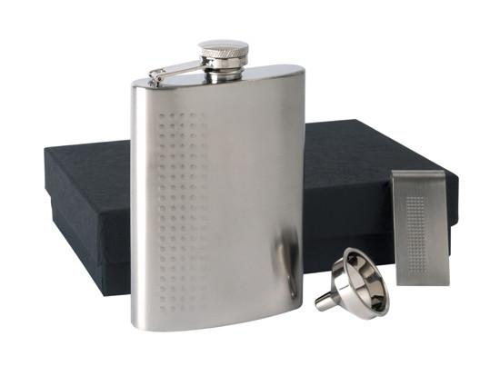 Flask P85 570 St Stl 6 Oz Flask Set With Dot Design Includes Engraving Trophy Gallery Canada Shop Online 5000 Products Fast Shipping