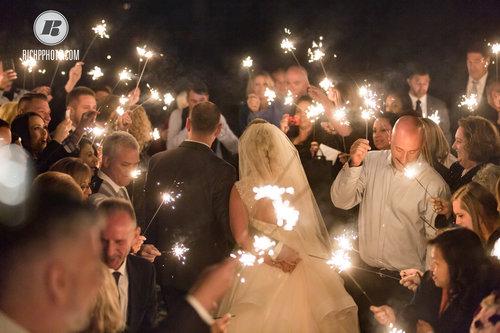 Sparkler Send Off — Westminster Weddings & Events