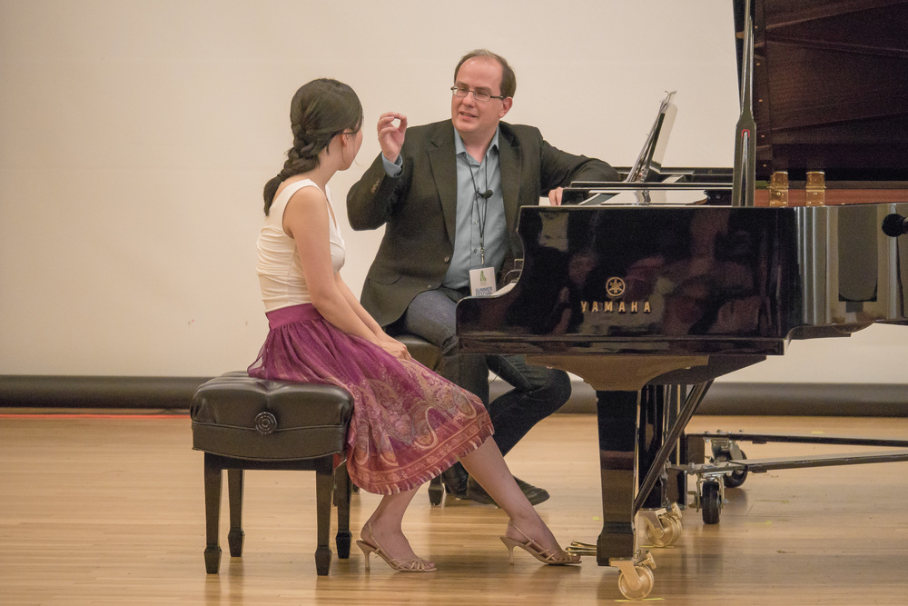 Alexandre Dossin Master Class with Tina Chong