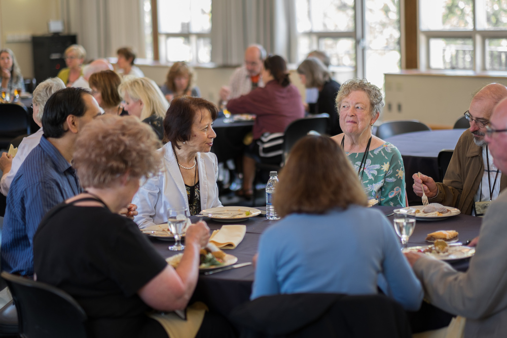 Edna Golandsky with Participants at Lunchtime