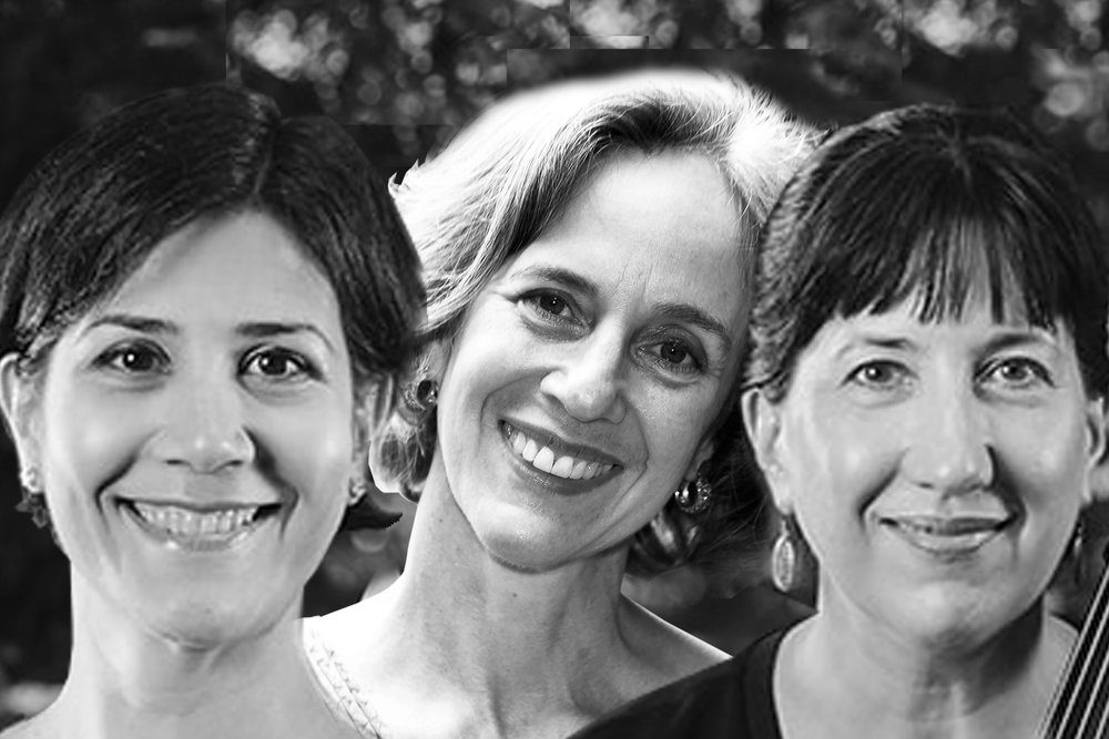 Inés Voglar Belgique, violin /Nancy Ives, cello /Susan DeWitt Smith, piano