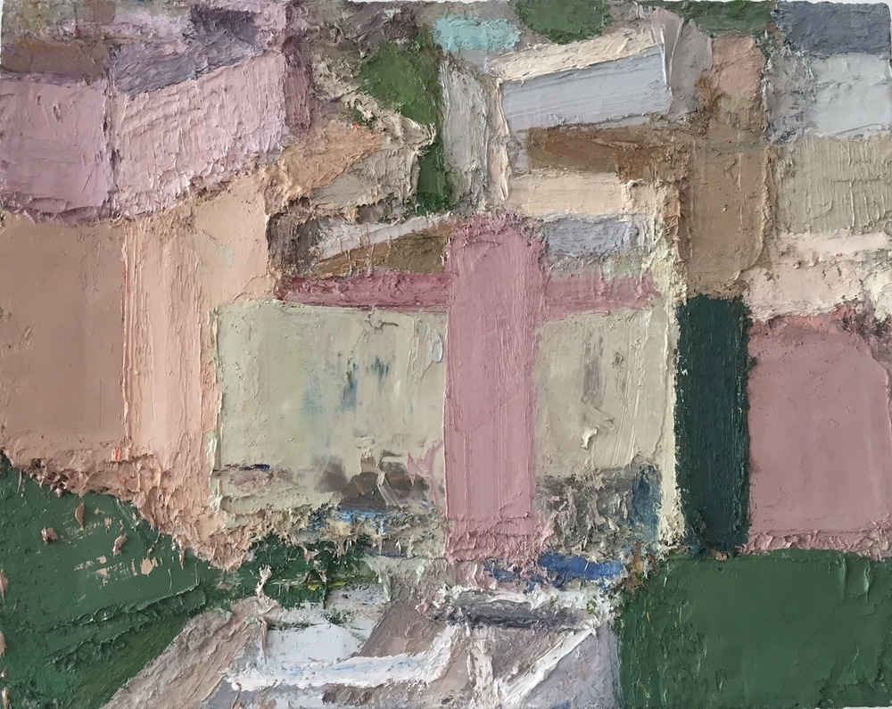 Tel Aviv 2, 2015-16, oil on linen, 22 x 28 inches.