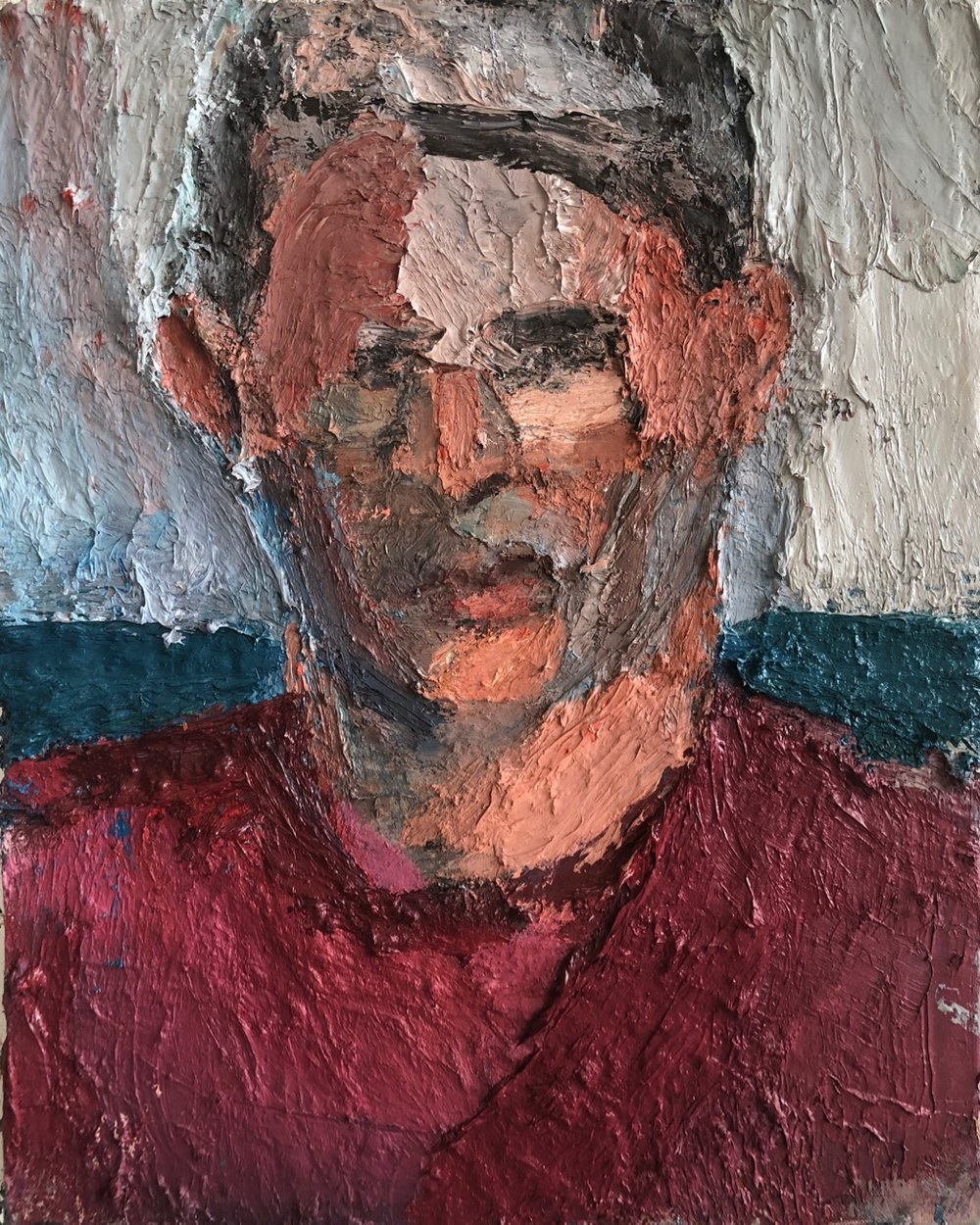 Evan Dunsky, 2015-18, 20 x 16 inches, oil on linen