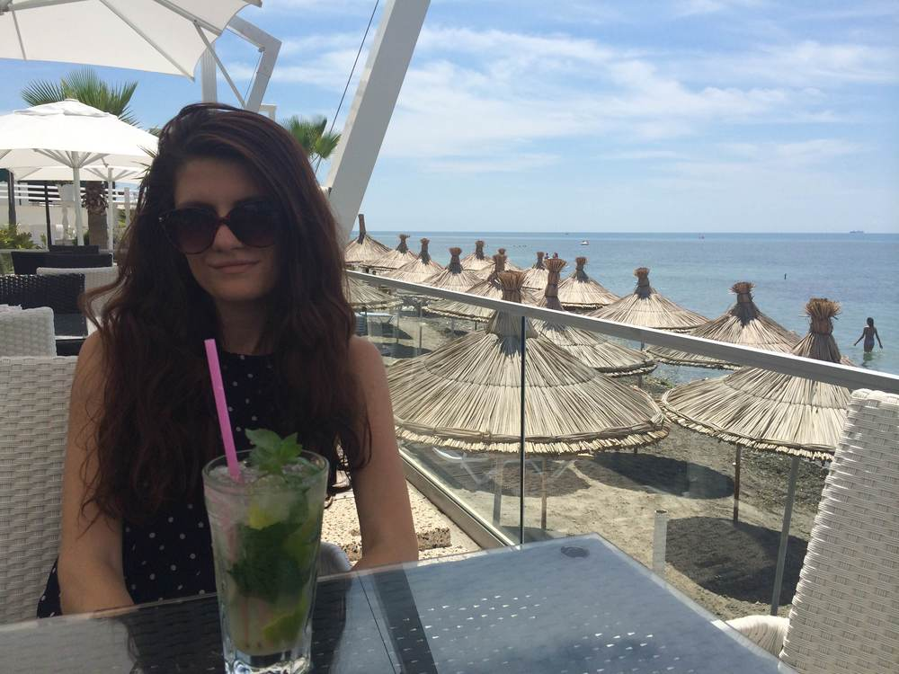 Mojitos by the beach..FINALLY!