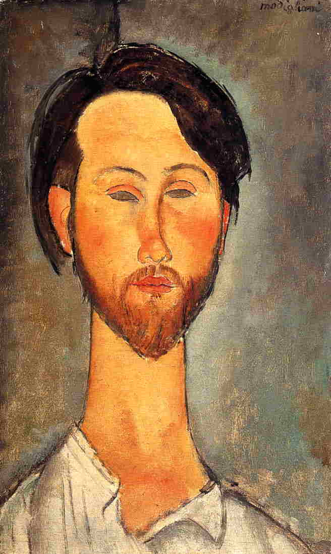 Painted originally by: Amedeo Modigliani