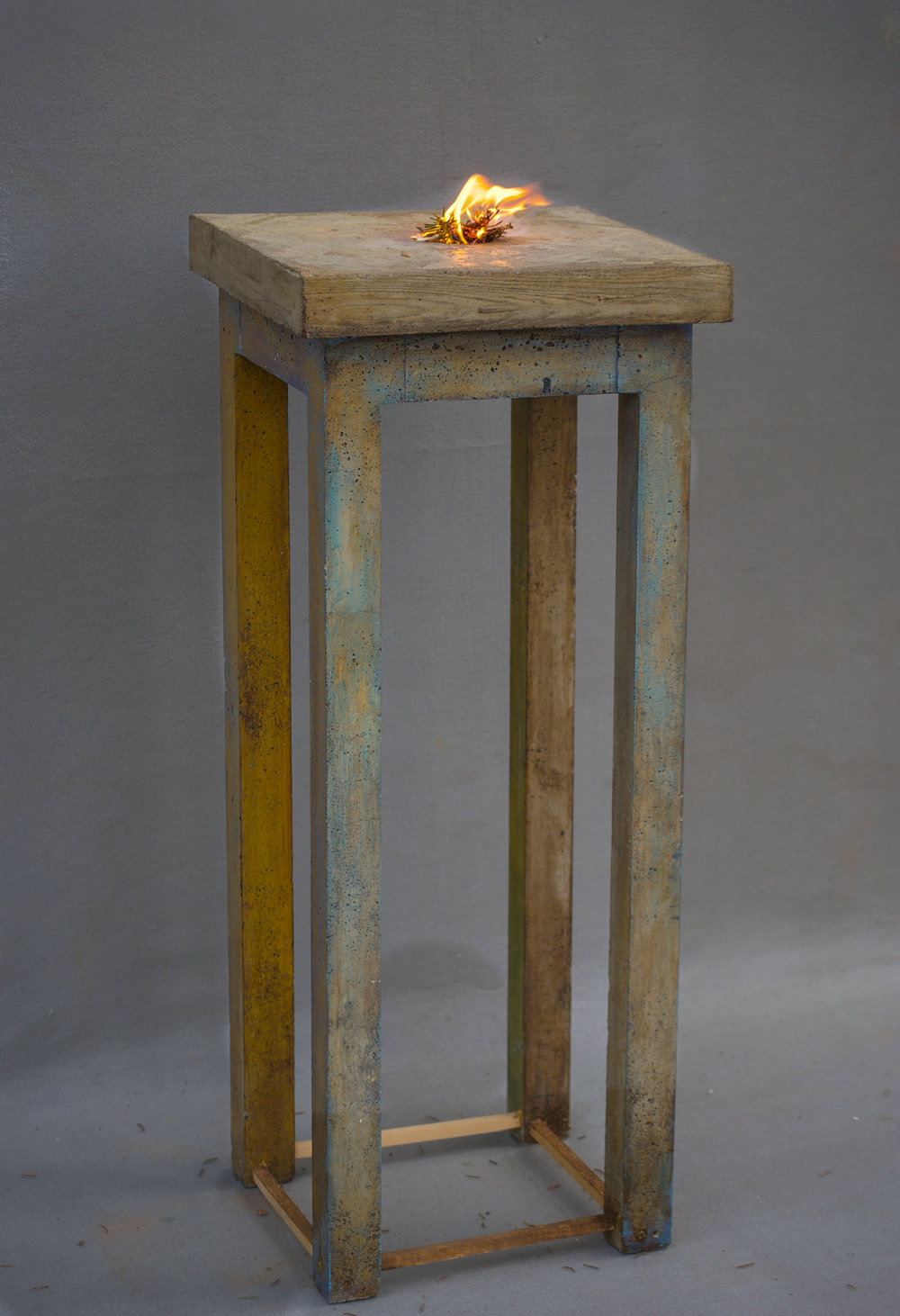 TABLES - CEMENT, STEEL AND FIRE