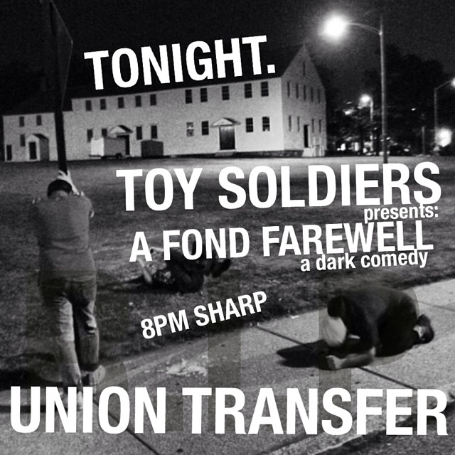 Union Transfer tonight: final hometown show. W/ @cheerselephant @cheerleaderband