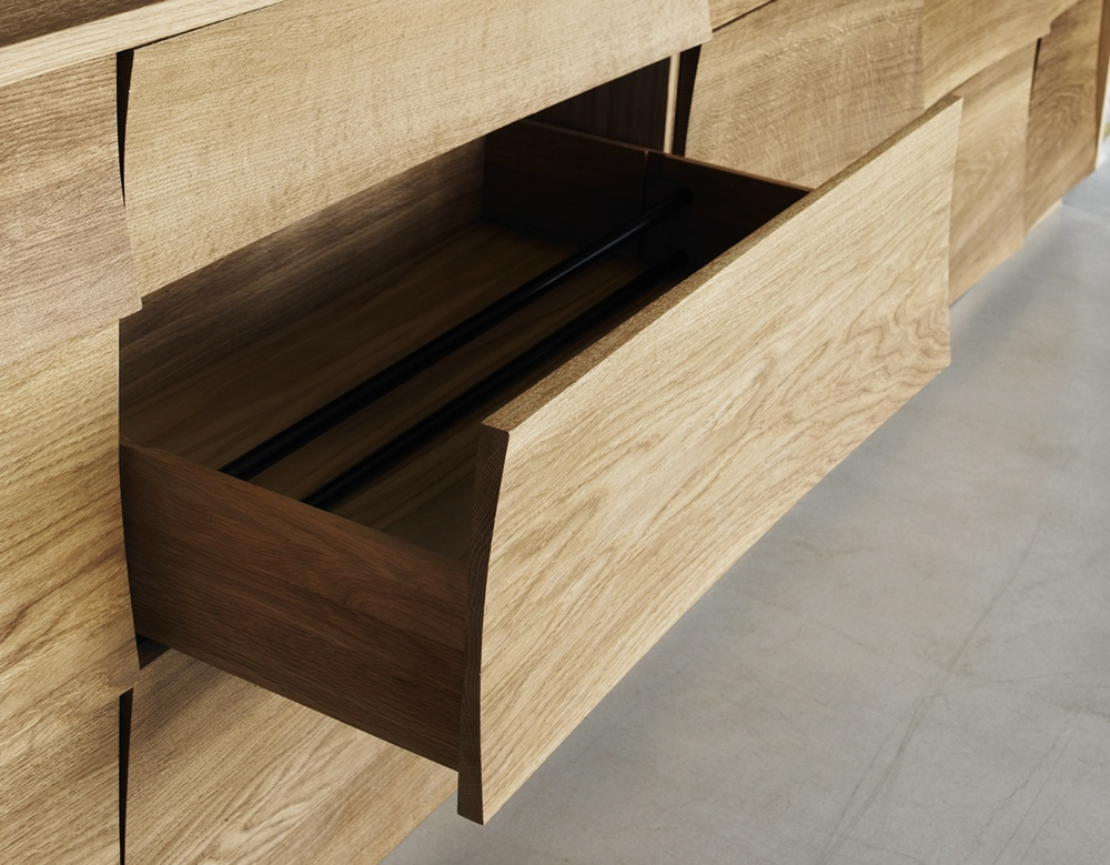 Reflect Kitchen - Oak Drawer