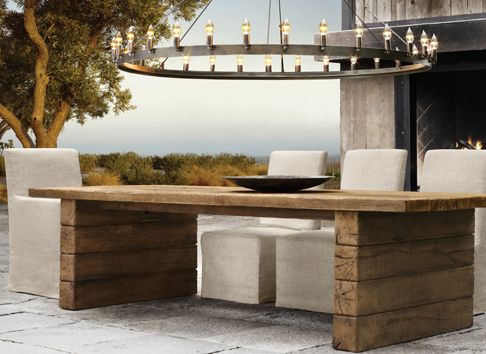 Aspen Collection for Restoration Hardware - Dining Table.