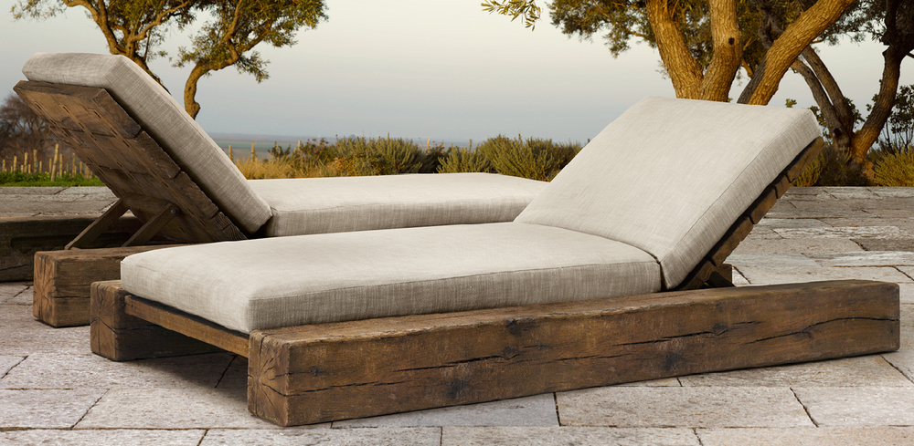 Aspen Collection for Restoration Hardware - Chaise Lounge