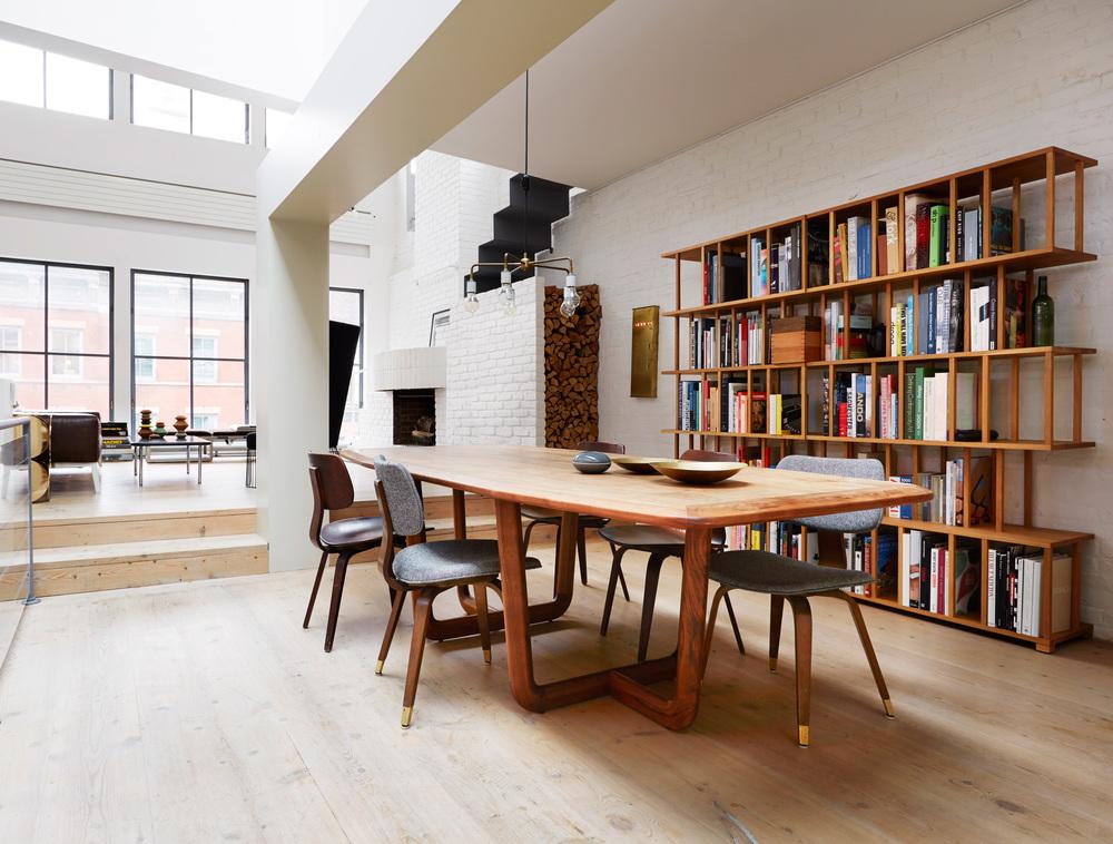 HARRISON STREET, NYC, 2012, interior design