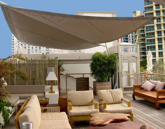 Retractable Sails | Sun Square Retractable Sail | ShadeFla — ShadeFla
