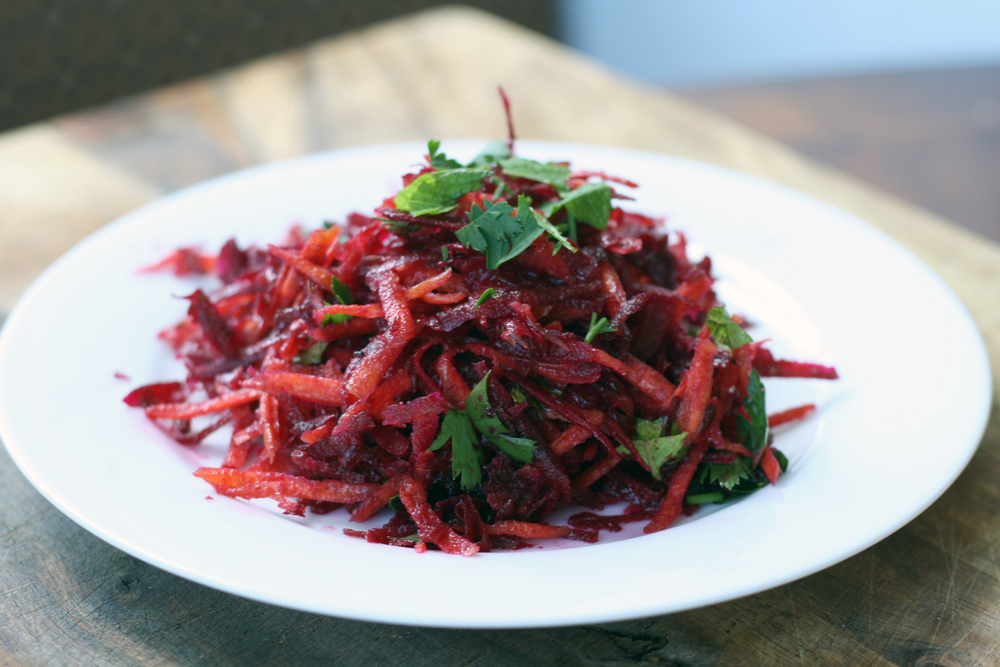 Raw Beet & Carrot Salad