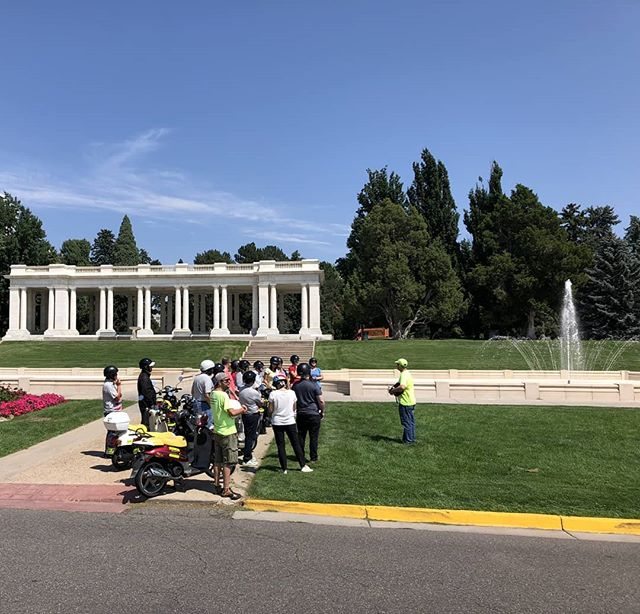 Private group corporate event today. Guided Scooter Tour included some off-leash zooming and some stories at Cheesman Park. Thanks to @bellflavorsandfragrances and to @photography_g_colorado for capturing some great shots.  #CuterOnAScooter #funinDenver #funthingstodoindenver #Denver #denveradventure #denvercolorado #scooterdenver #denveroutdoors #scoottoursdenver #scooter #moped #BestOfDenver #thingstodoindenver #theMileHighCity #Colorado #coloradoadventure #denveradventures #visitdenver #milehighcity #favoriteplacedenver #denvertour #denvercitytour #303 #denvercorporateevents #denvercompanyouting #bestthingstodoindenver