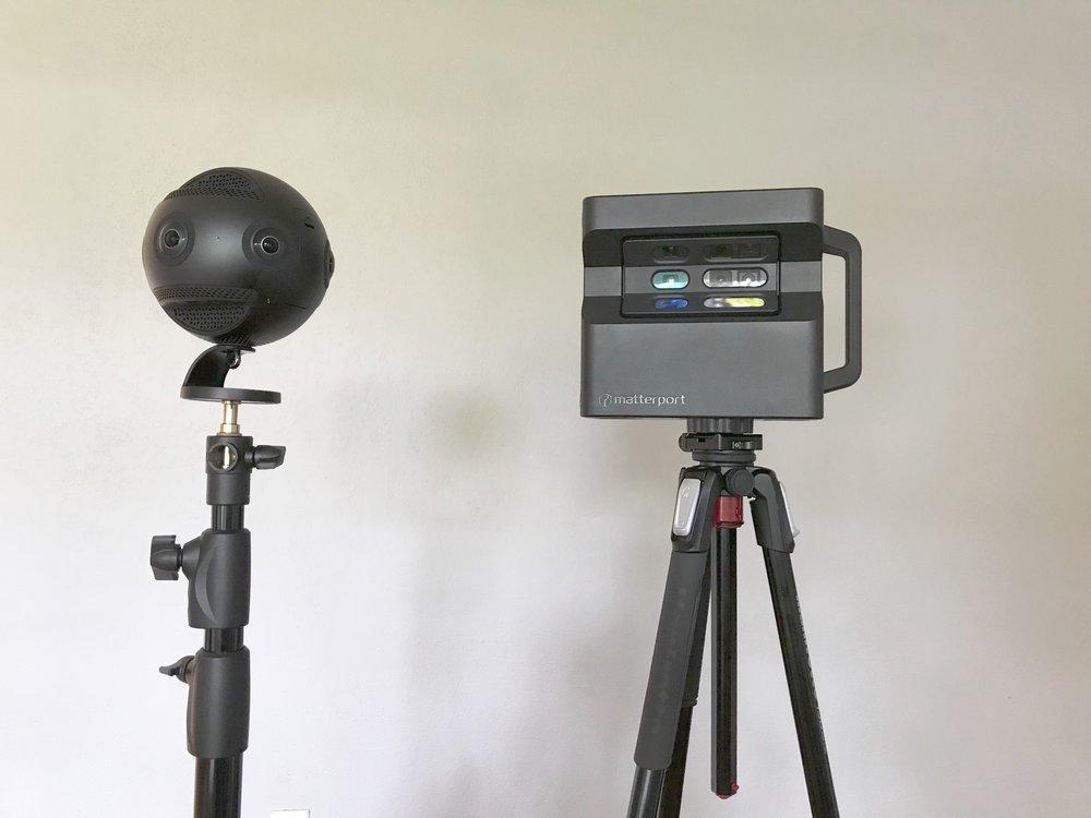 Matterport Pro2 + Insta360!